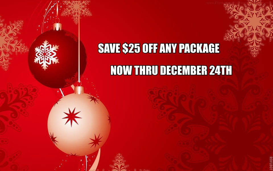 Save $25 off Bookings